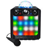 ION Party Rocker Express Bluetooth Karaoke Machine with Light Show