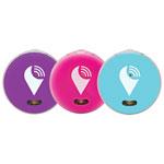 TrackR pixel Item Bluetooth Tracker - 3 Pack - Aqua / Purple / Pink