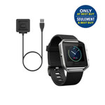 Fitbit Blaze Smartwatch Bundle - Large - Black
