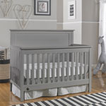 Fisher-Price Lucas 4-in-1 Convertible Cribs - Wire Brushed Grey