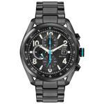 Citizen 45mm Men's Analog Sport Watch with Chronograph - Black/Blue