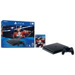 Ensemble PlayStation 4 Slim de 1 To avec NHL 18 - Noir