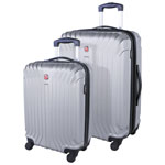 SWISSGEAR Tannensee 2-Piece Hard Side Expandable Luggage Set - Charcoal