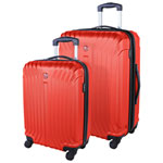 SWISSGEAR Tannensee 2-Piece Hard Side Expandable Luggage Set - Chili