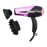 Conair 295PC 1875 Watt Ionic Chrome Hair Dryer -Pink