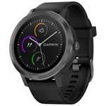 Garmin vivoactive 3 GPS Smartwatch with Heart Rate Monitor - Large - Gunmetal Grey