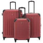 Ensemble de 3 valises rigides extensibles Significance de SWISSGEAR - Rouge