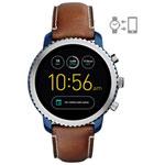 Fossil Q Explorist Gen 3 44mm Smartwatch - Brown/Blue