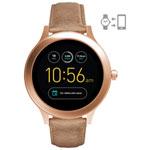Fossil Q Venture Gen 3 42mm Smartwatch - Nude/Rose Gold