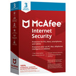 McAfee Internet Security 2018 (PC/ Mac/ Android/ Chrome/ iOS) - 3 Users - 1 Year