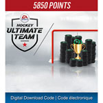 NHL 18 5,850 Ultimate Team Points (PS4) - Digital Download