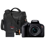 Canon EOS Rebel T7i DSLR Camera with 18-55mm Lens & Accessory Kit