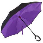 Knirps Reversible Umbrella - Purple