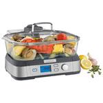 Cuiseur à vapeur numérique en verre de 1800 W Cook Fresh de Cuisinart - Acier inoxydable
