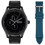 HUGO BOSS Touch 46mm Smartwatch - Medium - Black