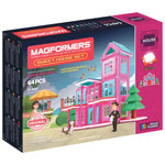 Magformers Sweet House Set - 64 Pieces (05001)