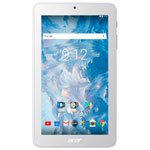 """Acer Iconia One 7"""" 16GB Android 7.0 Tablet with MT8167 Quad-Core Processor - White"""