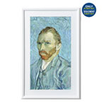"Meural V2 27"" Digital Canvas Frame - White - Only at Best Buy"