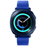 Samsung Gear Sport Smartwatch with Heart Rate Monitor - Large - Blue