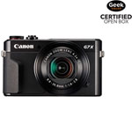 PowerShot G7 X Mark II Wi-Fi 20.1MP 4.2x Optical Zoom Digital Camera - Black - Open Box