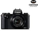 Canon PowerShot G5 X Wi-Fi 20.2MP 4.2x Optical Zoom Digital Camera - Black - Open Box