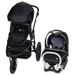 Baby Trend Bolt Performance Jogging Stroller With EZ Flex Loc 32 Infant Car Seat