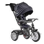 Bentley 6-in-1 Baby Stroller/Kids Trike - Onxy Black