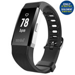 Striiv Apex HR Fitness Tracker with Heart Rate Monitor - Medium - Black - Only at Best Buy