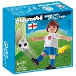 PLAYMOBIL England Soccer Player Toy