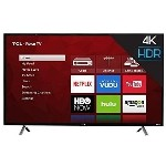 "TCL 4-Series 49"" 4K UHD HDR LED Roku OS Smart TV (49S403) - Refurbished"