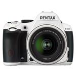 Pentax K50 16MP DSLR with DAL 18-55mm WR WHITE