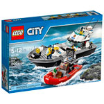 LEGO City: Police Patrol Boat - 200 Pieces (60129)