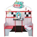 Melissa & Doug Star Diner Restaurant Wooden Play Set