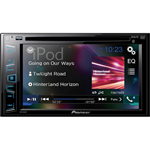 """Pioneer AVH-291BT Multimedia In-Dash DVD Receiver with 6.2"""" WVGA TouchScreen Display, & Built-in Bluetooth"""