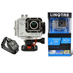 LinQTab by TopLinQs - LQSC48 Full HD 1080p Waterproof Digital Sports Camera