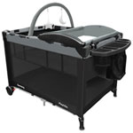 Harmony Play & Go Complete Play Yard - Black/Grey - Only At Best Buy