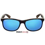 f1bb343e41 Ray-ban Andy Polarized Blue Flash Sunglasses