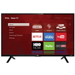 "TCL 32"" CLASS HD (720P) ROKU SMART LED TV (32S301) -REFURBISHED"