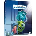 Monsters, Inc. Steelbook (Blu-ray 3D + Blu-ray)