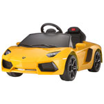 Best Ride On Cars Lamborghini Aventador - Yellow
