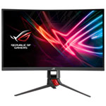 "ASUS ROG Strix 27"" FHD 144Hz 4ms Curved VA LED FreeSync Gaming Monitor (XG27VQ) - Dark Grey/Red"