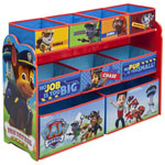PAW Patrol 9-Drawer Kids Toy Chest - Blue