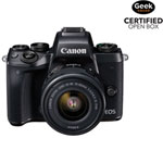 Canon EOS M5 Mirrorless Camera with 15-45mm f/3.5-6.3 Lens Kit - Open Box