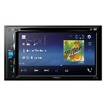 """Pioneer AVH-201EX Multimedia DVD Receiver with 6.2"""" WVGA Display, Built-in Bluetooth and Remote Control Included"""