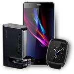 Envic ASH LTE Unlocked Cellphone + Smart Watch + Bluetooth Earphone/Power Bank (Bundle of 10 Essentials)
