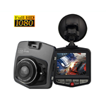 GXT Full 1080p HD DVR Dash Camera With Night Vision-Black