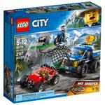 LEGO City: Dirt Road Pursuit - 297 Pieces (60172)