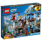 LEGO City: Mountain Police Headquarters - 663 Pieces (60174)