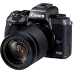 Canon EOS M5 Mirrorless w/18-150mm Lens Blk