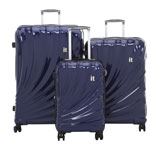 Ensemble de 3 valises rigides extensibles Pagoda d'IT Luggage - Saphir